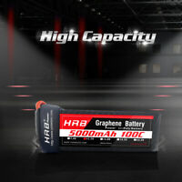 HRB Graphene 3S 11.1V LiPo Battery 5000mAh 100C-200C for RC Quadcopter Car Boat