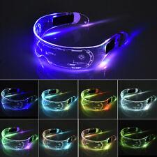 Con Luz Brillante Gafas de Sol LED Gafas Luminiscente Gafas Disco Fiesta