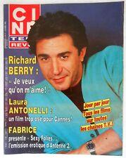 ►CINE REVUE 17/1986-RICHARD BERRY-LAURA ANTONELLI-MARTIN LANDAU-CHERYL LADD...