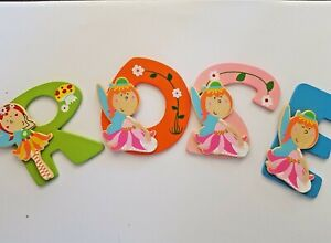 CHERYL BUY NOW Wooden Fairy Alphabet Letters