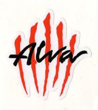 "Alva SCRATCH Skateboard Sticker 3"""