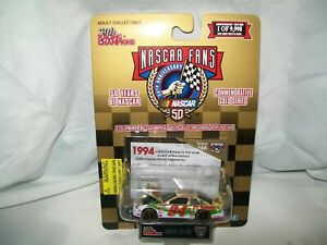 NASCAR FANS 20 YEARS OF NASCAR COMMEMORATIVE GOLD SERIES 1994 ISSUE #46 DIECAST