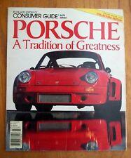 PORSCHE 1984 COLLECTORS EDITION SPEEDSTER CARRERA TURBO MAGAZINE TYPE 365
