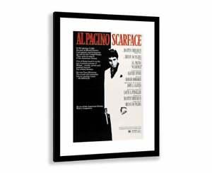 Scarface Movie Poster 1983 Tony Montana Al Pacino Picture - No Frame