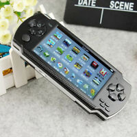 "X68G 32 bit 4.3 ""PSP Portable Handheld Game Console Player 10000 Giochi mp4+CamC"