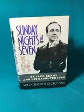 Sunday Nights At Seven Jack Benny (Hardcover, 1990, 1st Edition)