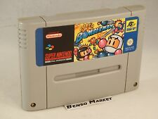 SUPER BOMBERMAN 1 - NINTENDO SNES SUPER NES 16 BIT - PAL ITA ITALIANO ORIGINALE