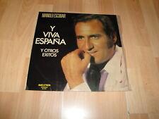 MANOLO ESCOBAR Y VIVA ESPAÑA LP DE VINILO VINYL DEL AÑO 1973 EN BUEN ESTADO
