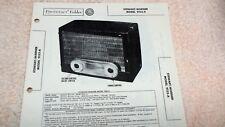 Stewart-Warner Radio Model 9153-A Sams Photofacts Folder