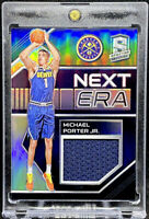 Michael Porter Jr 2018-19 Panini Spectra Next Era Rookie Memorabilia #18 RC /99