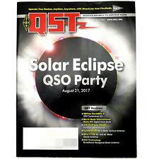 Qst Ham/Amateur Radio Arrl Magazine - August 2017 RockMite Ii Qrp Cushcraft R9