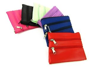 Unisex Small Coin Credit Card Holder & Key Ring Holder Wallet Pouch Purse