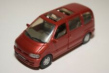 A2 1:43 AHC DOORKEY PILEN NISSAN SERENA METALLIC RED NEAR MINT CONDITION