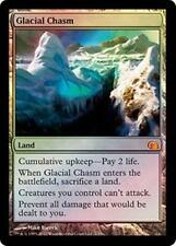 Foil GLACIAL CHASM From the Vault: Realms MTG Land Rare