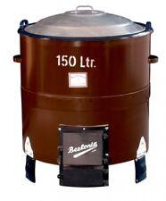 Beelonia Stahlkesselofen einteilig 150L Inhalt mit Auslauf und Hahn