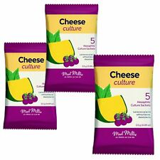 3x Mad Millie Cheese Culture Mesophilic 5x sachets each pack.