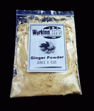 Ginger Root Powder Zingabar Officinalis 1 OZ bag