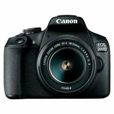 Canon EOS 2000D / Rebel T7 DSLR Camera w/ 18-55mm DC III Lens international plug