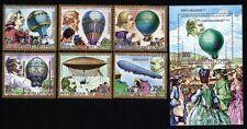 Tschad 976/81A B lock 162A Ballons postfrisch