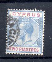 Cyprus KGV 1921 2pi good used CDS SG92 WS21151