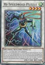 YU-GI-OH CARD: HI-SPEEDROID PUZZLE - RARE - SHVI-EN050