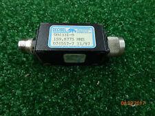 Decibel DB4331-B Radio repeater Harmonic Filter VHf 146-174  #J