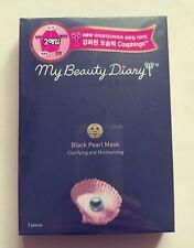 [My Beauty Diary] Black Pearl Mask Ultra Clarifying Moisturizing 23g 2pcs