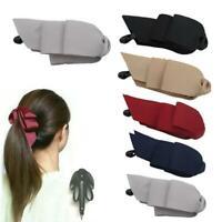 Women Headwear Clamp Banana Hair Grip Clip Korean Ponytail Vertical Hair Clip