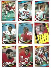 1984 Topps Football - complete your set 201-396