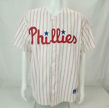 Russell MLB Jim Thome #25 Philadelphia Phillies Jersey White/Red Men's Large