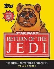 Star Wars Return of the Jedi The Original Topps Trading Card Series Volume 3
