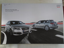 Audi A3 & S3 range Pricing & Specs brochure May 2009