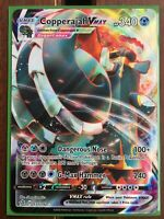 Pokemon Card   COPPERAJAH VMAX   Ultra Rare  137/192  REBEL CLASH *MINT*