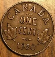 1920 CANADA SMALL CENT COIN PENNY