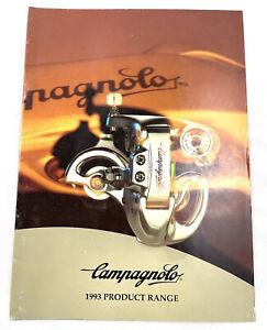 Campagnolo Catalogue 1993 Product Range Vintage Catalog Campy