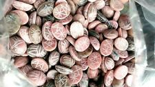 Big 16 x 13 mm Scarabs Lot of 36 Real Gemtones Scarabs Rhodeniite Scarabs 36 Pcs