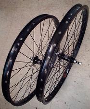 "24"" CRUSIER / BMX SUN RHYNO LITE  - SUN ringle SEAL BEARING Wheel SET black NEW"
