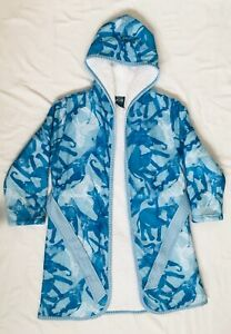 Woodrow & Friends Kids' Sherpa Lined Robe