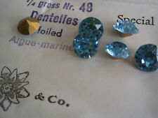 Swarovski SS 48 Aquamarine 36 Pieces Original Package