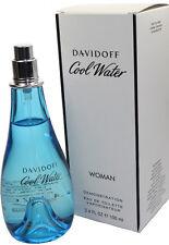 COOL WATER BY DAVIDOFF 3.4 OZ EDT SPRAY TST FOR WOMEN NEW IN TST BOX