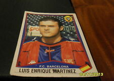 FIGURINA PANINI SUPERCALCIO 1998/1999: BARCELONA LUIS ENRIQUE MARTINEZ 294