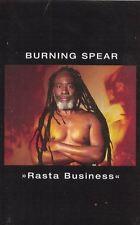 Rasta Business Burning Spear Audio Music Cassette Tape 1998 Reggae
