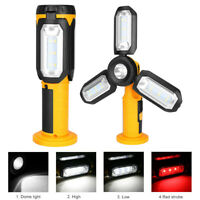 LED COB Work Light USB Rechargeable Magnetic Outdoor Inspection Lamp Hand Torch