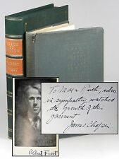 Robert Frost - North of Boston, 2nd U.S. edition, signed by Frost and Chapin