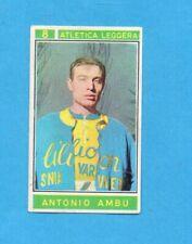 CAMPIONI dello SPORT 1967/68-Figurina n.8- AMBU -ATLETICA L.-Recuperata
