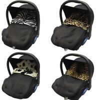 Universal Animal Print Car Seat Footmuff / Cosy Toes Newborn Deluxe Baby
