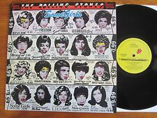 VINYL LP 33T THE ROLLING STONES SOME GIRLS UK 1978 IN TOP CONDITION: RECORD MINT