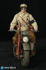 DiD Bryan WW2 2nd Armored Division Military Police with motorcycle 1/6 scale mib