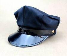 Octagon Yacht Party Costume Captain Skipper Sailor Boat Police Sheriff Hat Cap