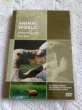 ANIMAL WORLD- ALASKAN BROWN BEAR POLAR BEARS – DVD, R-ALL, LIKE NEW, FREE POST